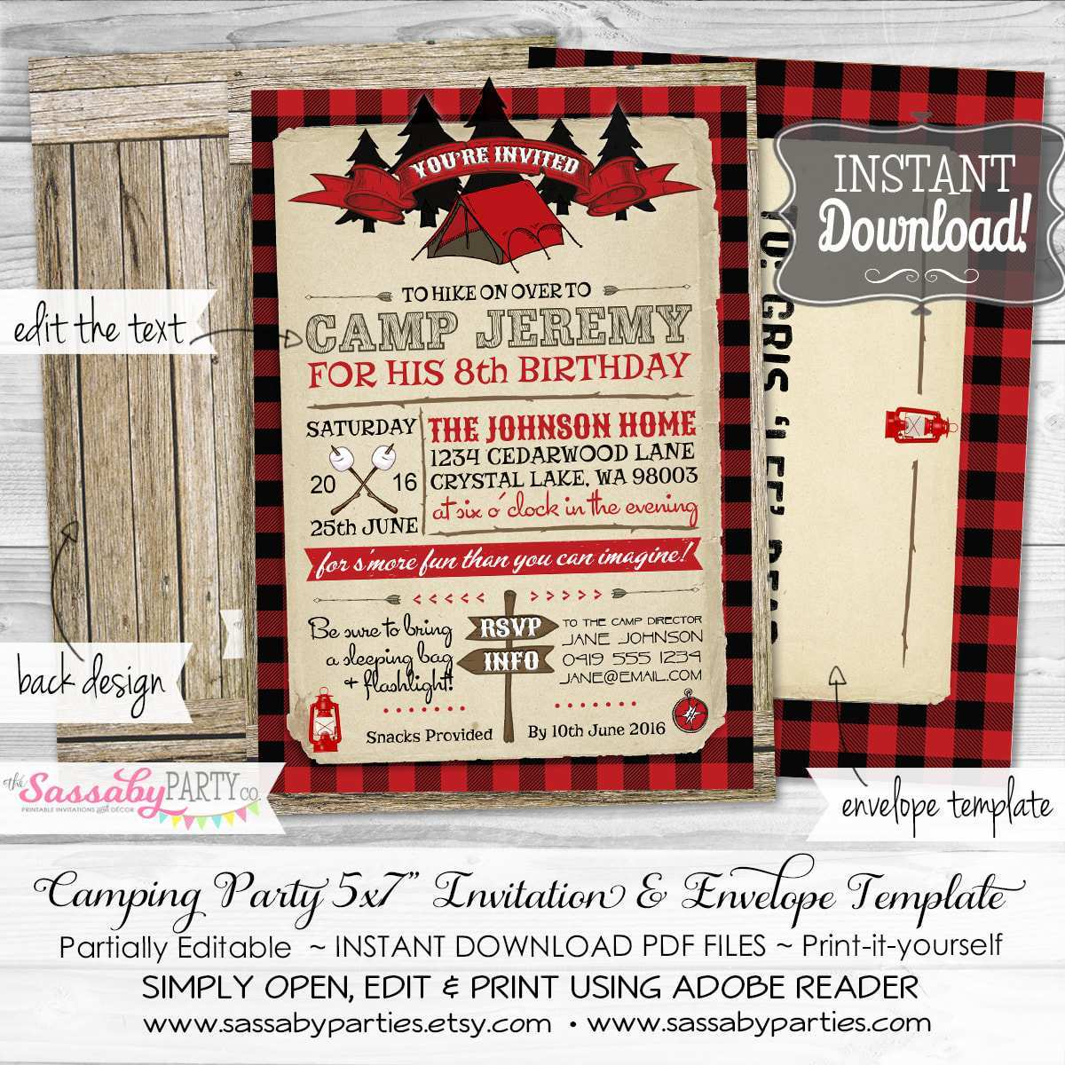 16 Customize Party Invitation Envelope Template for Ms Word with Party Invitation Envelope Template