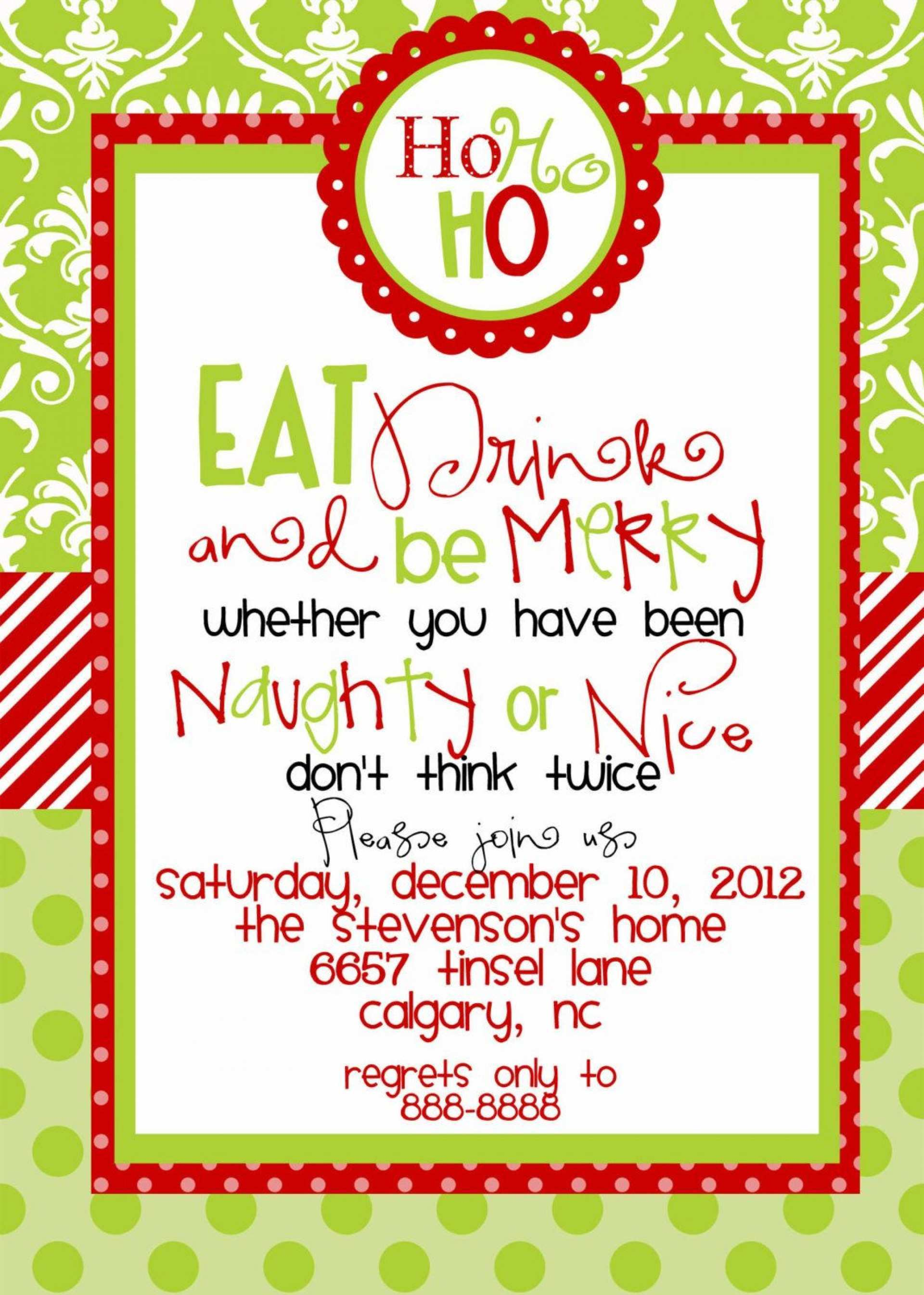16 Online Christmas Party Invitation Blank Template Formating by Christmas Party Invitation Blank Template