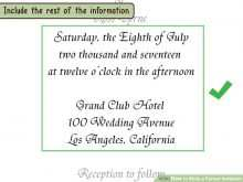 17 Best Template For A Formal Invitation Templates with Template For A Formal Invitation