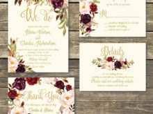 17 Blank Wedding Invitation Template Burgundy PSD File for Wedding Invitation Template Burgundy