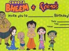 17 Create Birthday Invitation Template Chota Bheem in Word for Birthday Invitation Template Chota Bheem