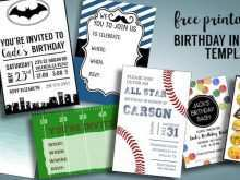 17 Creating Birthday Invitation Template For Boy Templates with Birthday Invitation Template For Boy