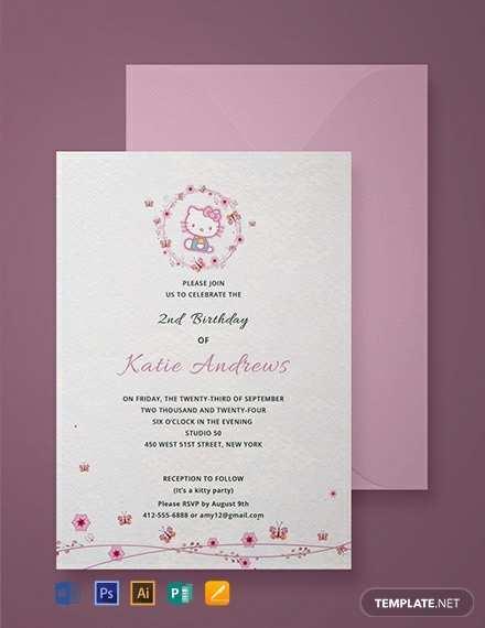 17 Creating Hello Kitty Birthday Invitation Template Free Now with Hello Kitty Birthday Invitation Template Free