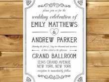 17 Customize Wedding Invitation Template For Ms Word For Free by Wedding Invitation Template For Ms Word