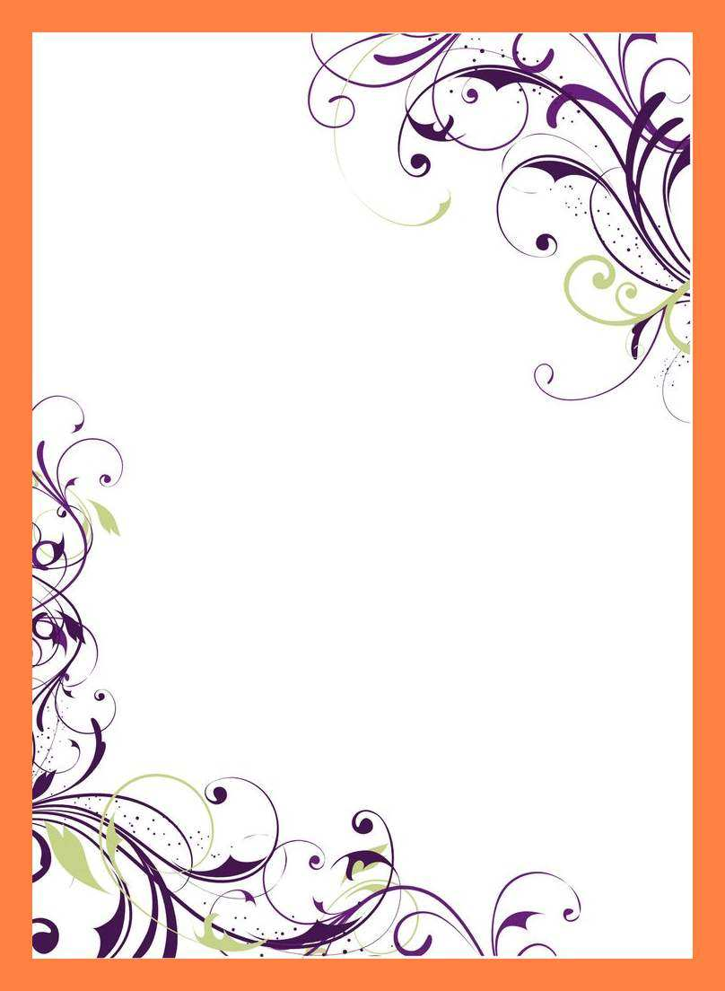 17 Free Blank Invitation Card Samples With Stunning Design with Blank Invitation Card Samples