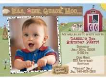 17 Report Farm Animal Birthday Invitation Template in Word with Farm Animal Birthday Invitation Template