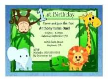 18 Adding Birthday Invitation Template Jungle Theme in Word for Birthday Invitation Template Jungle Theme