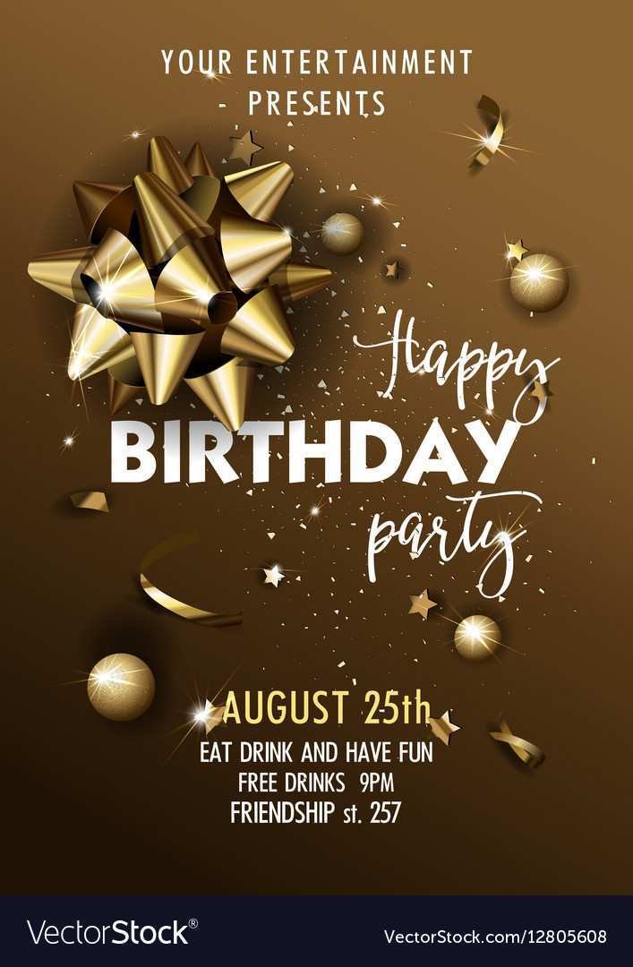 18 Best Party Invitation Poster Template for Ms Word by Party Invitation Poster Template
