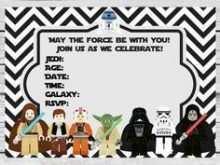 18 Best Star Wars Birthday Invitation Template for Ms Word for Star Wars Birthday Invitation Template