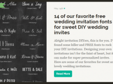 Wedding Invitation Template Inkscape