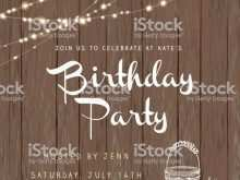 18 Creative Rustic Birthday Invitation Template in Word by Rustic Birthday Invitation Template