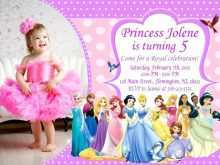 18 Online Birthday Invitation Templates Disney Princess With Stunning Design with Birthday Invitation Templates Disney Princess