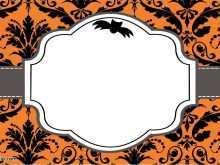 18 Standard Birthday Invitation Template Halloween For Free with Birthday Invitation Template Halloween