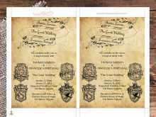 18 Visiting Harry Potter Wedding Invitation Template in Word for Harry Potter Wedding Invitation Template