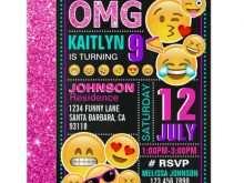 19 Creating Birthday Invitation Template Emoji With Stunning Design by Birthday Invitation Template Emoji