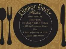 19 Free Dinner Invitation Template Online Now with Dinner Invitation Template Online