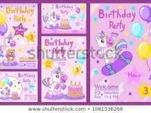 Horse Birthday Invitation Template