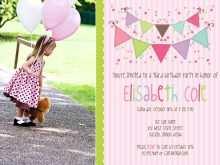 Free Photoshop Birthday Invitation Template
