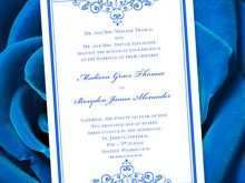 How To Make A Wedding Invitation Template On Microsoft Word