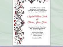 20 Best Black And White Wedding Invitation Template for Ms Word with Black And White Wedding Invitation Template