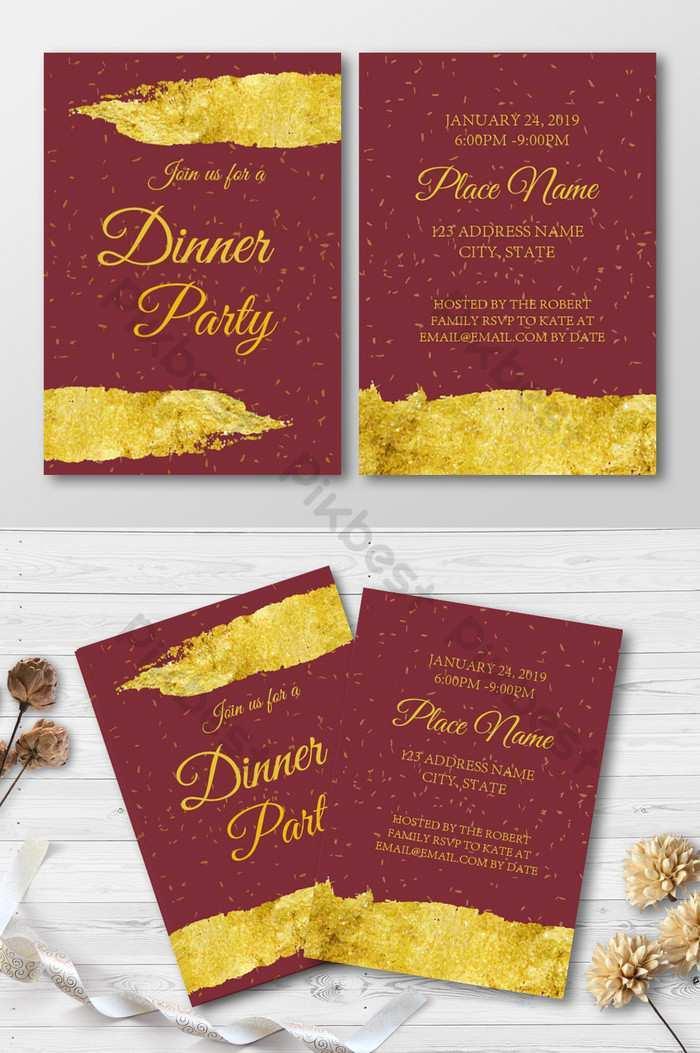 20 Best Business Dinner Invitation Template Download Now by Business Dinner Invitation Template Download