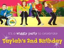 20 Blank Wiggles Birthday Invitation Template for Ms Word for Wiggles Birthday Invitation Template