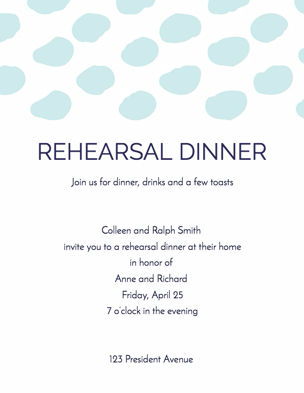 20 Creating Dinner Invitation Examples Now for Dinner Invitation Examples