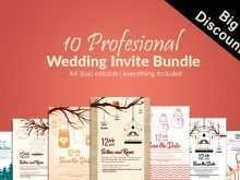 20 Customize Wedding Invitation Template Bundle For Free by Wedding Invitation Template Bundle