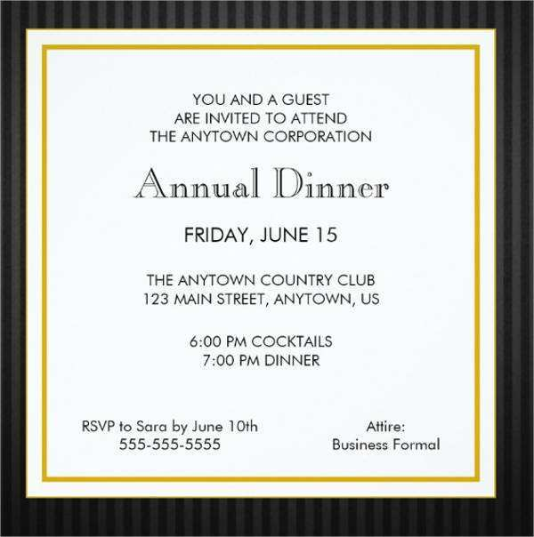 20 Free Dinner Invitation Examples in Photoshop with Dinner Invitation Examples