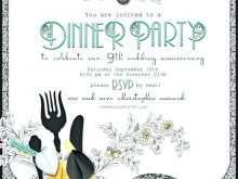 20 Free Printable Dinner Party Invitation Template Photo by Dinner Party Invitation Template