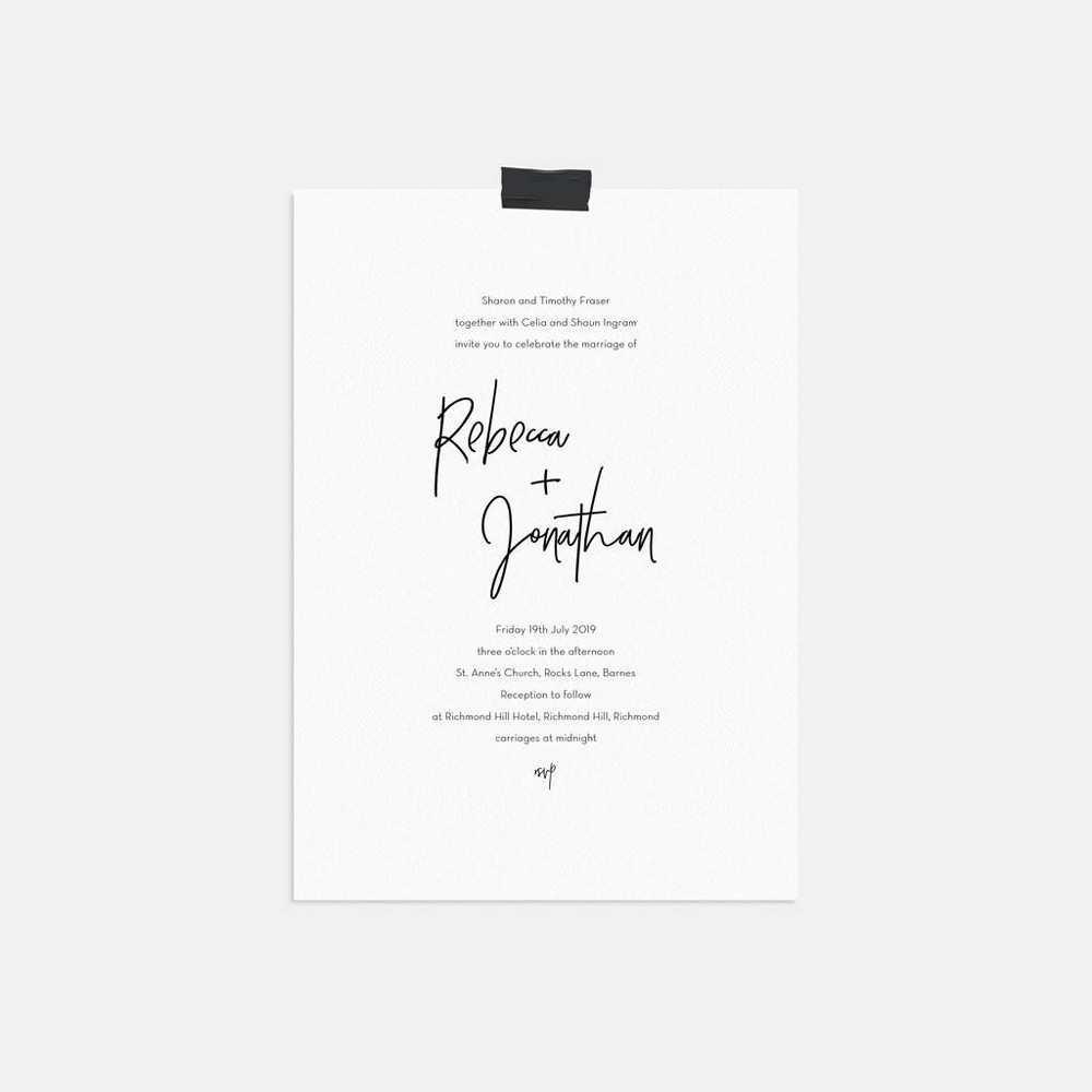 3 Free Reception Invitation Example Ks3 Now with Reception