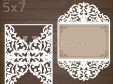 Wedding Invitation Template Laser Cut