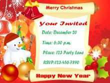 20 Online Example Of Christmas Invitation Card Layouts for Example Of Christmas Invitation Card