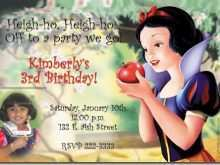 20 Printable Birthday Invitation Template Snow White Maker for Birthday Invitation Template Snow White