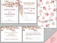 20 Printable Japanese Wedding Invitation Template for Ms Word with Japanese Wedding Invitation Template