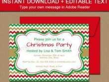 20 Standard Christmas Party Invitation Template Editable PSD File by Christmas Party Invitation Template Editable