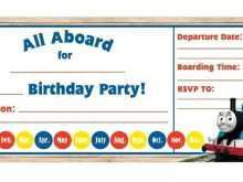 21 Best Birthday Invitation Template Train in Word by Birthday Invitation Template Train
