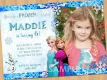 21 Creating Elsa Party Invitation Template for Ms Word for Elsa Party Invitation Template