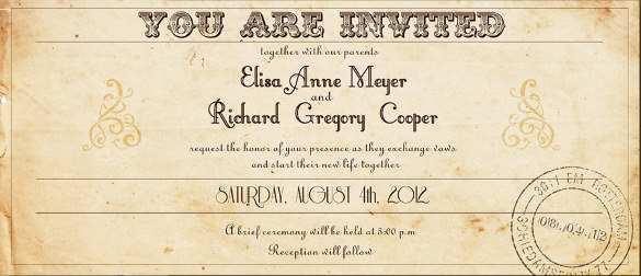 21 Creative Ticket Wedding Invitation Template Free Templates by Ticket Wedding Invitation Template Free