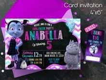 21 Format Vampirina Birthday Invitation Template Layouts for Vampirina Birthday Invitation Template