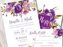 21 How To Create Wedding Invitation Templates Violet Download by Wedding Invitation Templates Violet