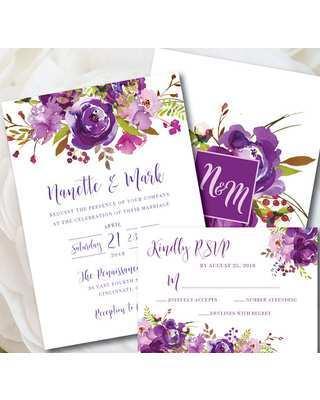 21 How To Create Wedding Invitation Templates Violet Download by Wedding Invitation Templates Violet