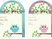 21 Printable Owl Birthday Invitation Template for Ms Word by Owl Birthday Invitation Template