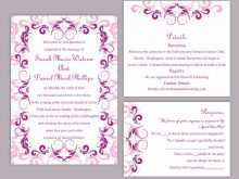 22 Best Wedding Invitation Templates Violet With Stunning Design for Wedding Invitation Templates Violet