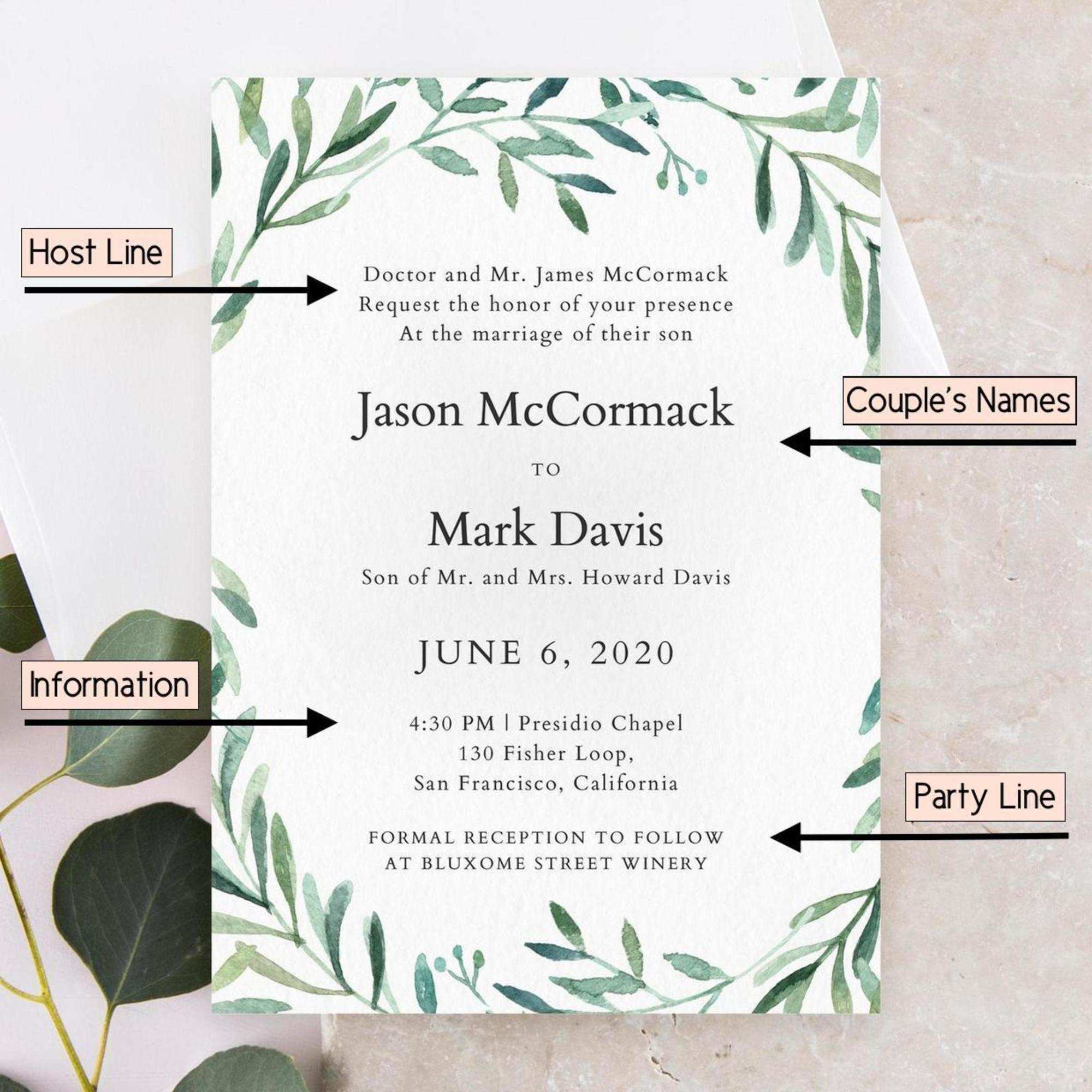 22 Create Wedding Invitation Template In Word in Photoshop by Wedding Invitation Template In Word