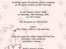 22 Creating Invitation Card Format For Marriage Download for Invitation Card Format For Marriage