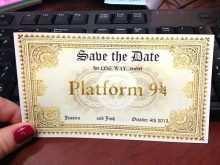 22 Customize Harry Potter Wedding Invitation Template With Stunning Design with Harry Potter Wedding Invitation Template