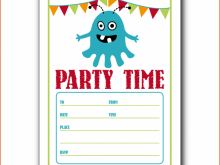 22 Customize Our Free Birthday Party Invitation Template In Word for Ms Word with Birthday Party Invitation Template In Word