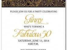 22 Online 50Th Birthday Invitation Template Vector Formating with 50Th Birthday Invitation Template Vector