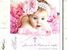 22 Report Christening Invitation For Baby Girl Blank Template Maker for Christening Invitation For Baby Girl Blank Template